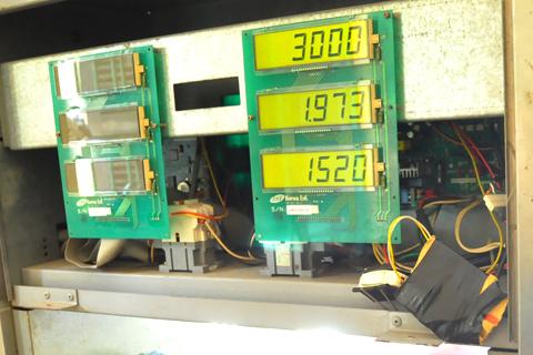 011 Cây xăng gắn chip điện tử ở Kim Giang đong thiếu 5%