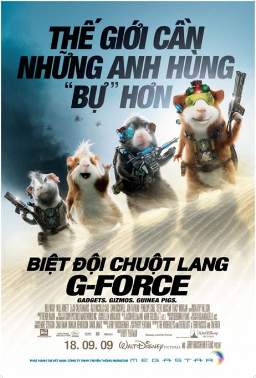 090914CINEC2 Biệt Đội Chuột Lang   dễ thương và vui nhộn