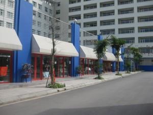 Một góc Đại học Thăng Long