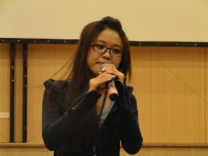 Một thí sinh đến từ K23 có phần thi tốt tại vòng sơ khảo và đang chuẩn bị cho đêm Chung khảo
