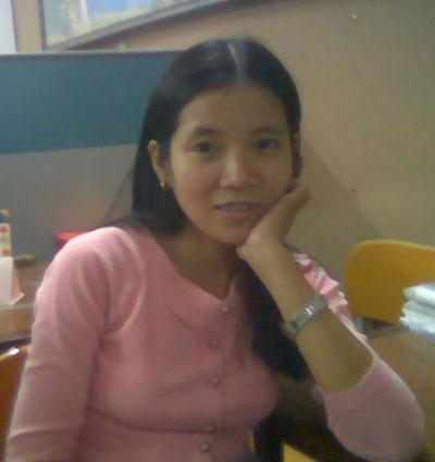 CoNguyen1 Cô giáo Huỳnh Thị Ái Nguyên, nữ tiến sĩ trong lòng các học trò