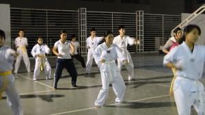 DSC00498 300x168 CLB Taekwondo náo nức chuẩn bị Hội Trường