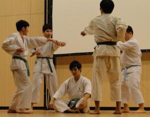 DSC00734 300x235 Tổng kết tiết mục cho Hội Trường của các CLB võ thuật