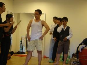 Một buổi tập của K Group