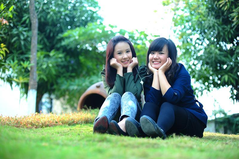DSC 7377 Gặp gỡ hai cô bạn dễ thương của Thăng Long Idol 2010