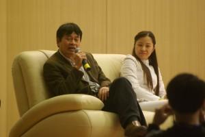 Thầy Trương Ngọc Kim, phó chủ tịch HĐQT trường ĐH Thăng Long