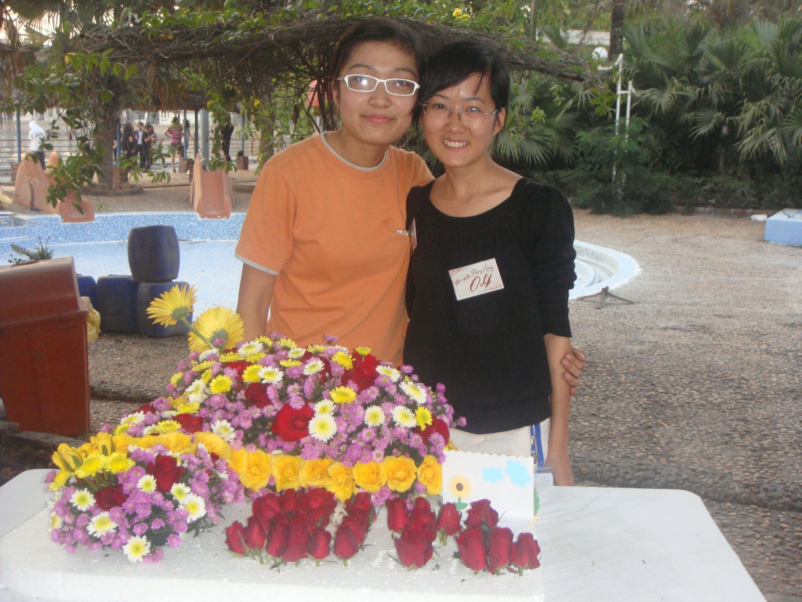 Image00105 Kết quả cuộc thi cắm hoa nghệ thuật: Hương sắc Thăng Long