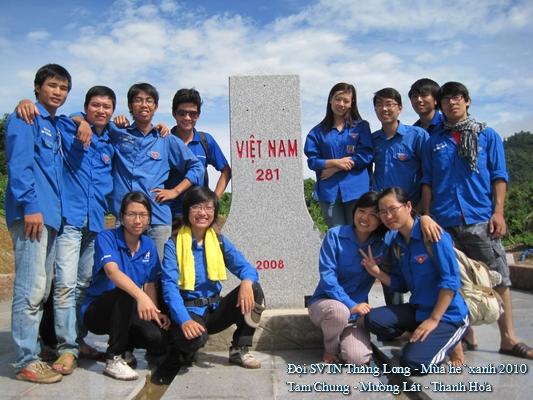 SVTNTL MuongLat047 Sinh viên Thăng Long tham gia chương trình Rèn luyện đoàn viên thời kỳ mới