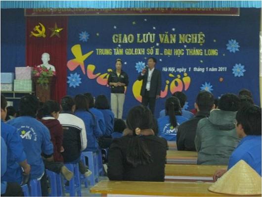 SuoiHai BaVi SVTN TL 02 Tình nguyện dã ngoại với Đội SVTN Thăng Long