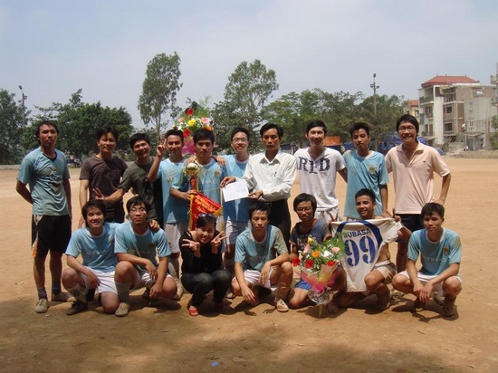 ThangLongCup2010061 Kết quả của giải bóng toàn trường Thăng Long Cup 2010