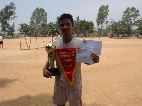 ThangLongCup201009 Kết quả của giải bóng toàn trường Thăng Long Cup 2010