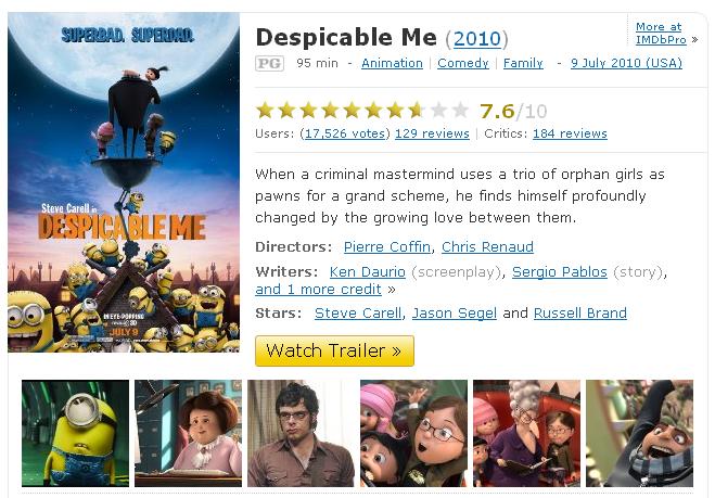 despicableme2010imdb1291360030765.700x0 Despicable me (2010)[Viet sub][Xem Online]