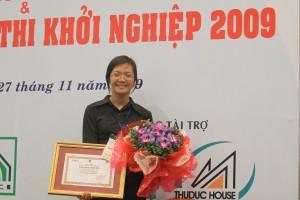 khoinghiep 01 300x200 Sinh viên Thăng Long đạt giải ba cuộc thi khởi nghiệp 2009