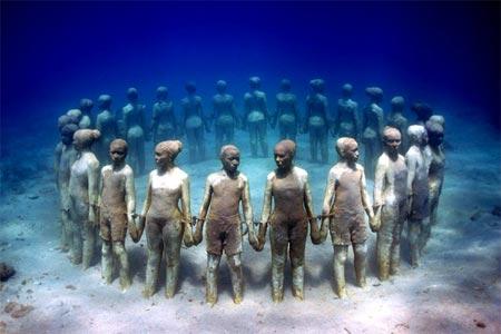 nuoc1 Bảo tàng dưới nước lớn nhất thế giới