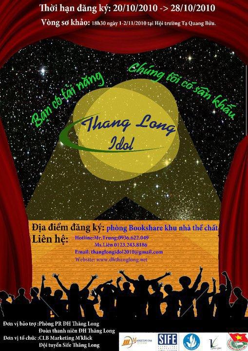 pos Thăng Long Idol 2010 đã chính thức bắt đầu!