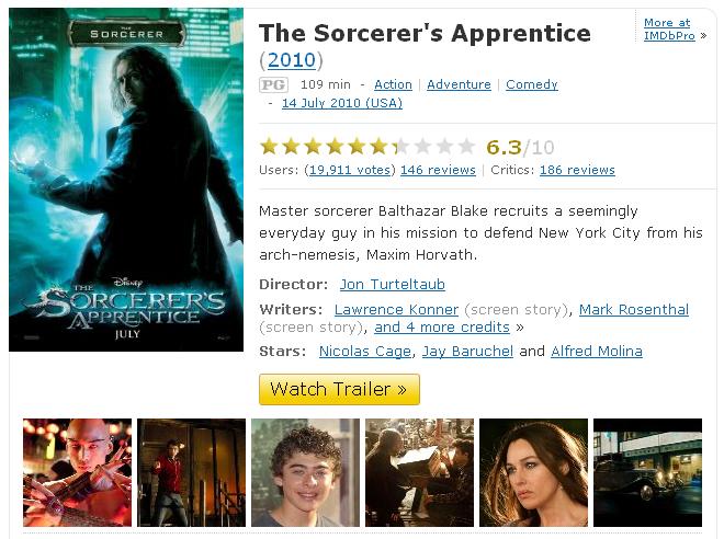 thesorcerersapprentice2010imdb1292854372957.700x0 The Sorcerers Apprentice (Phù thuỷ tập sự)[Viet Sub][Xem Online]