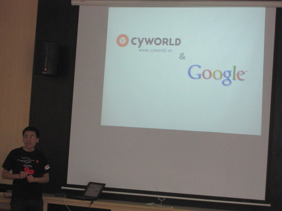 Hội thảo phát triển ứng dụng của Google tại ĐH Thăng Long